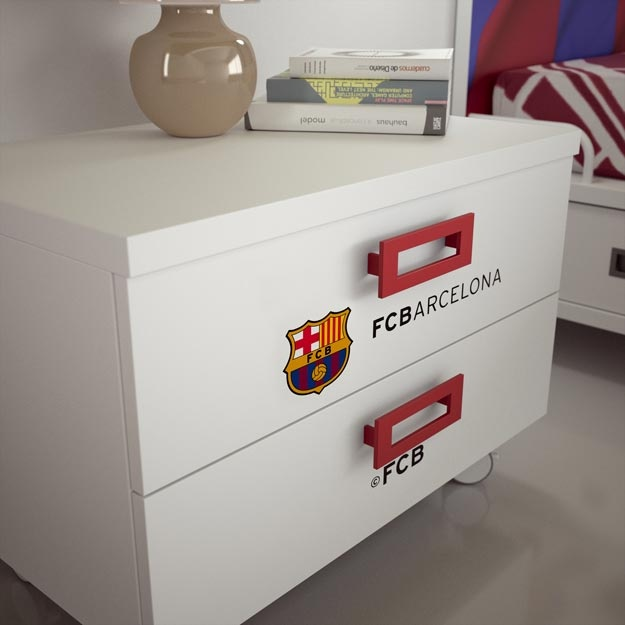 FC Barcelona bedroom for two kids