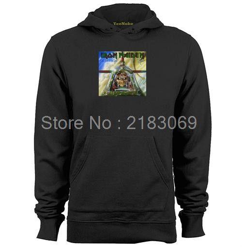 Aces High Iron Maiden Mens & Womens Long Sleeve Hoodies Fashion Sweatshirts