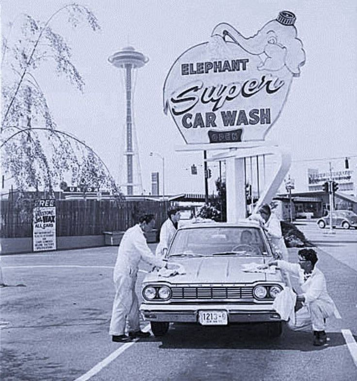53 best 100 years of car wash images on pinterest car cleaning car wash in seattle c 1960s solutioingenieria Choice Image