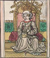 Marie Uherská, manželka Zikmunda Lucemburského, císaře římského, uherského a českého krále, slezského vévody, moravského, lužického a braniborského markraběte