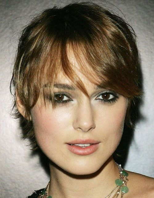 Short Layers Hairstyles for the Square Faces Shapes : Short Women Hairstyles For Square Faces