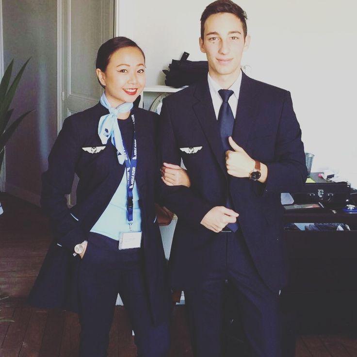 ❤️ Laura & Alexandre, Hôtesse et Steward chez Aigle Azur après leur formation Tunon ��✈️�� #airplane #job #work #aigleazur #avion #hotessedelair #steward #vol #pnc #compagnieaérienne #flightattendant #flight #student #tunon #travel #travail #de #rêve #bravo #soproud #picoftheday http://butimag.com/ipost/1563102662797573175/?code=BWxQZcThDw3