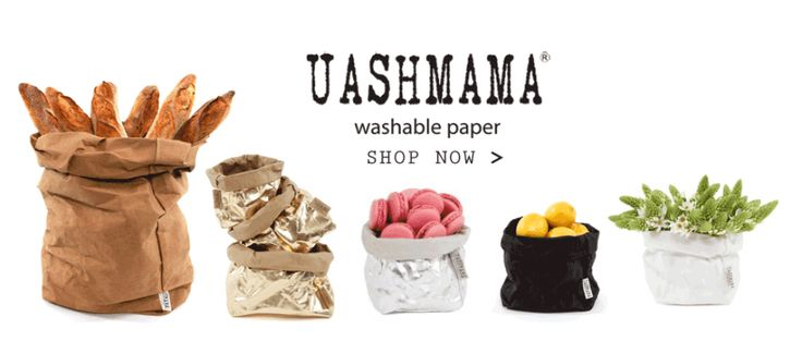 Uashmama Washable Paper! Available at Table Culture, 128 Rokeby Road, Subiaco https://tableculture.com.au/