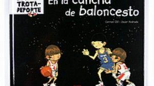 En la cancha de baloncesto