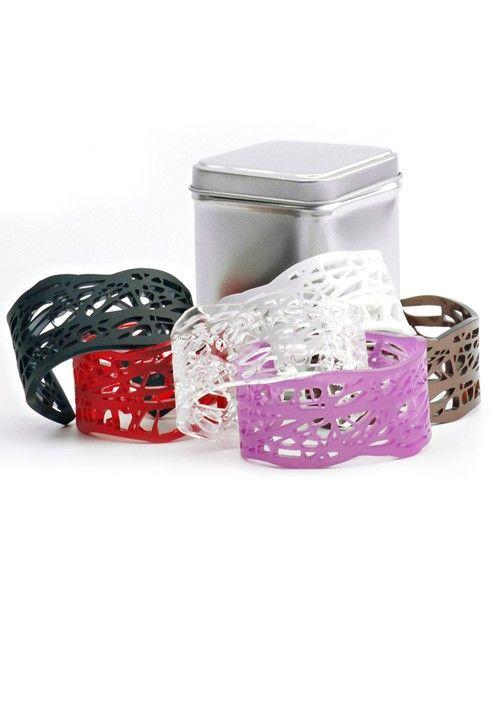 "Bracelet - Terra ""Liberty Collection"" Plexiglass BUY IT NOW ON www.dezzy.it!"