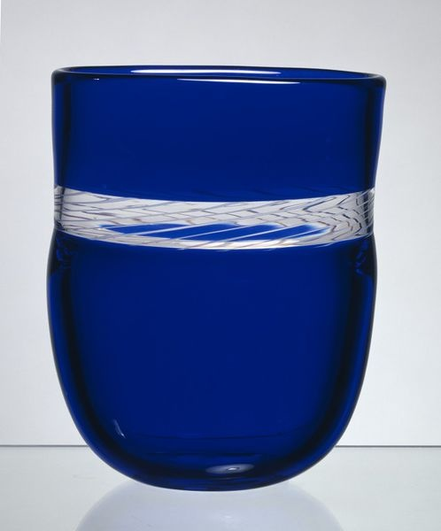 "Vase, ""incalmo"" technique glass, Norway, designed by Arne Jon Jutrem, for Hadeland Glassworks, 1988"