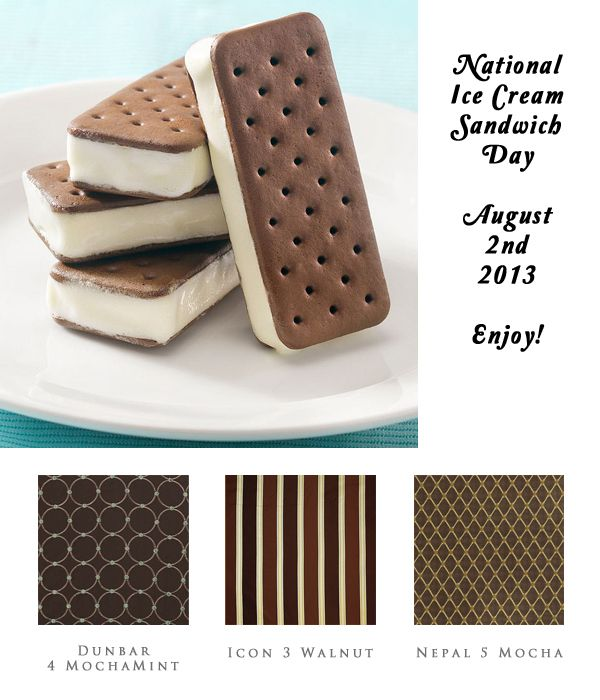 "Happy National Ice Cream Sandwich Day! While most of us relate to the original rectangle of vanilla ice cream sandwiched between two soft chocolate cake pieces, other around the world do not. In Australia, the most popular sandwiches are called ""Giant Sandwiches,"" while ""Maxibons"" are half-dipped in chocolate. The most exotic ice cream sandwiches might be found in Singapore. Here, red bean, yam, and honeydew are all popular flavors."