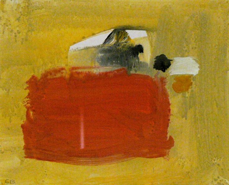 Eugène Brands - gouache op papier www.kunstzolder.be