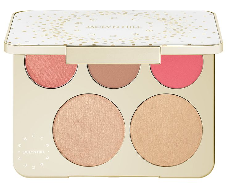 BECCA x JACLYN HILL CHAMPAGNE COLLECTION FACE PALETTE | $52.00 | LIMITED EDITION, ONLINE ONLY, SEPHORA EXCLUSIVE. LIMITED QUANTITY NOW ONLINE; FULL RELEASE MAY 26TH ONLINE, IN-STORES JUNE 16TH