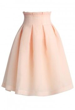 The Lithe Dance Tulle Skirt in Light Beige - Retro, Indie and Unique Fashion