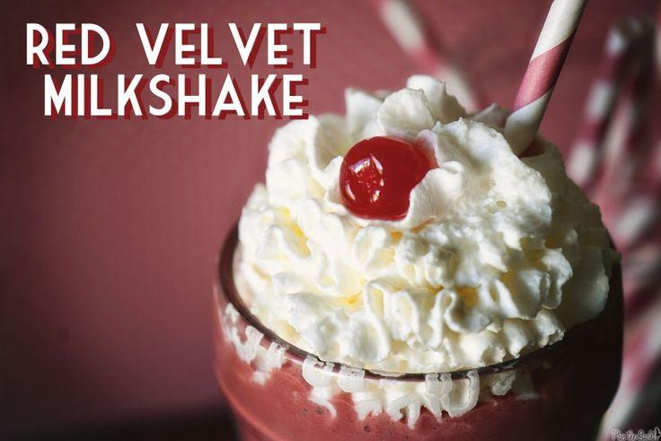 Red Velvet Milkshake Without Cake Mix