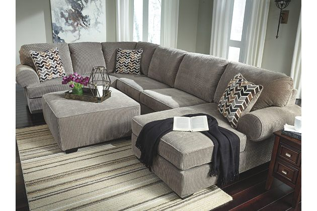 Best Jinllingsly 3 Piece Sectional Gray Large Living Room 640 x 480