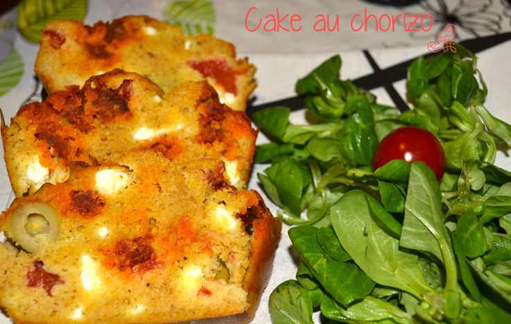 Cake au chorizo weight watchers