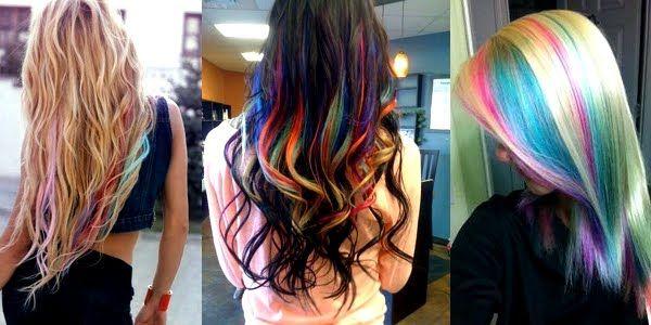 Endless Madhouse!: Beautiful Rainbow Highlights Ideas!!!