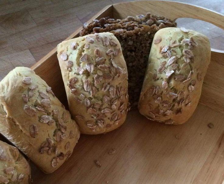 Rezept Frühstücksbrötchen ohne Hefe für Allergiker von lelah2008 - Rezept der Kategorie Brot & Brötchen