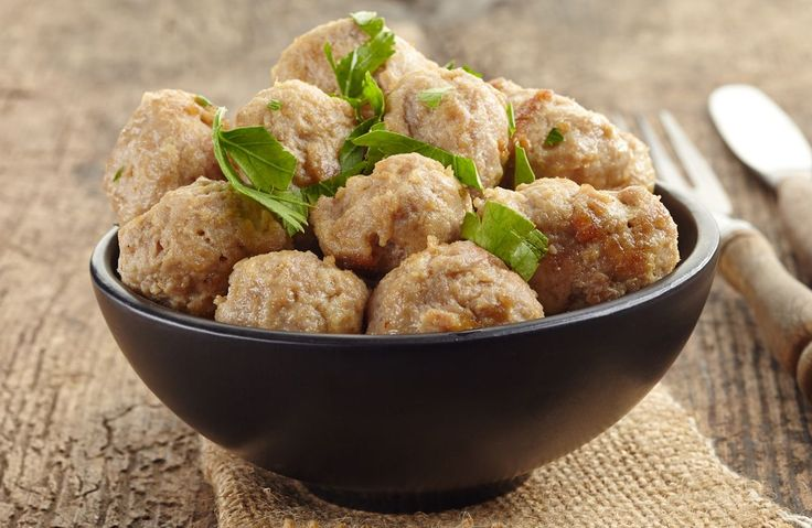 These meatballs are a wonderful addition to any spaghetti dinner.  Make a big batch and freeze for use later.