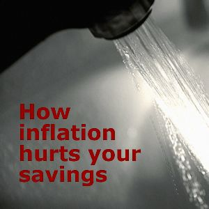 How inflation hurts your savings - we compare bank accounts vs inflation
