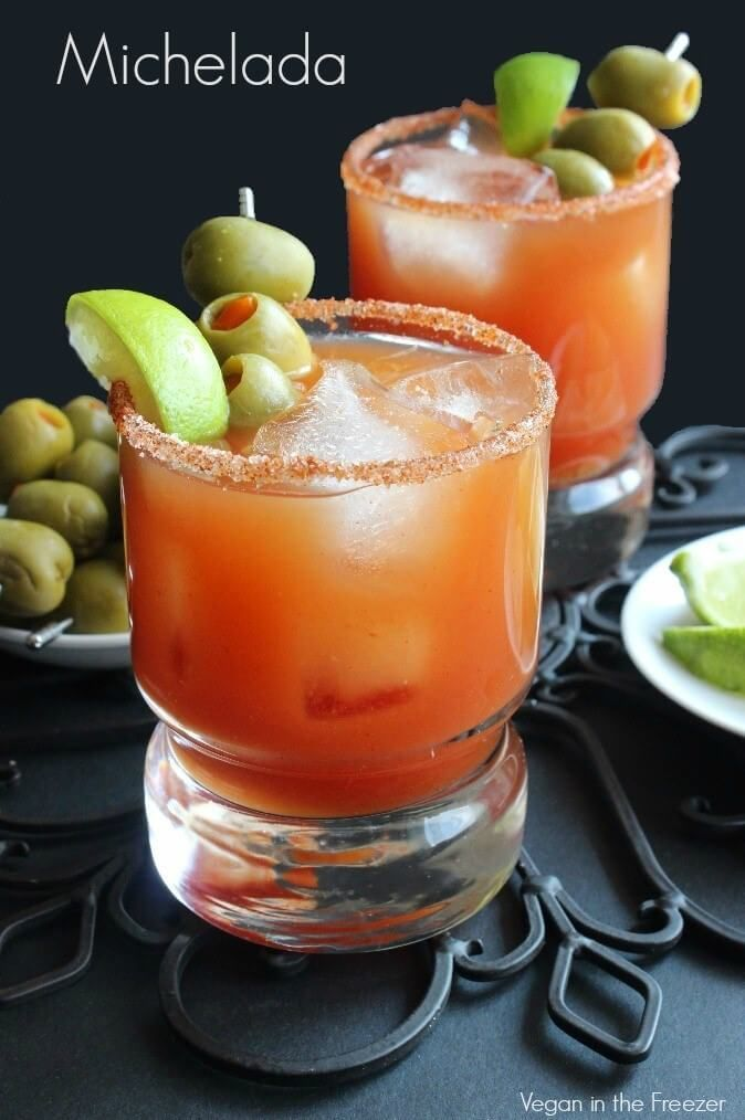 Michelada - The Mexican Bloody Mary Recipe | Vegan Freezer @FoodBlogs