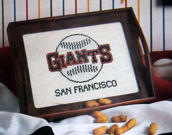Major League Baseball Cross Stitch Items For The by NeedANeedle