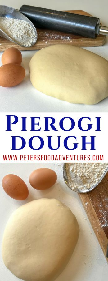 The perfect dumpling dough recipe for to make Pierogi dough, Vareniki dough, Pelmeni dough, Pirohy or Derelye dough. A simple classic dough recipe.