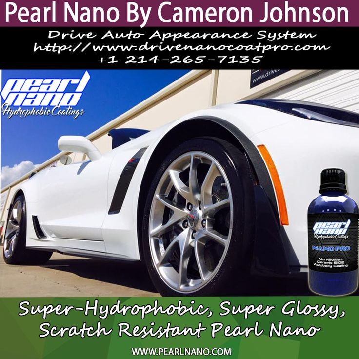 Pearl Nano by Cameron Johnson of Drive Auto Appearance System. Located @ 1101 Ohio Dr Ste 107 Plano, TX 75093 Get Directions Phone number (214) 265-7135 Business website driveinhidefinition.com. For Interested Distributors and Dealers of Pearl Nano please contact Dave: Dave@PearlUSA.net or Call: 808 779-7163. Visit www.pearlnano.com for more informations. #cameronjohnson #driveinhidefinition