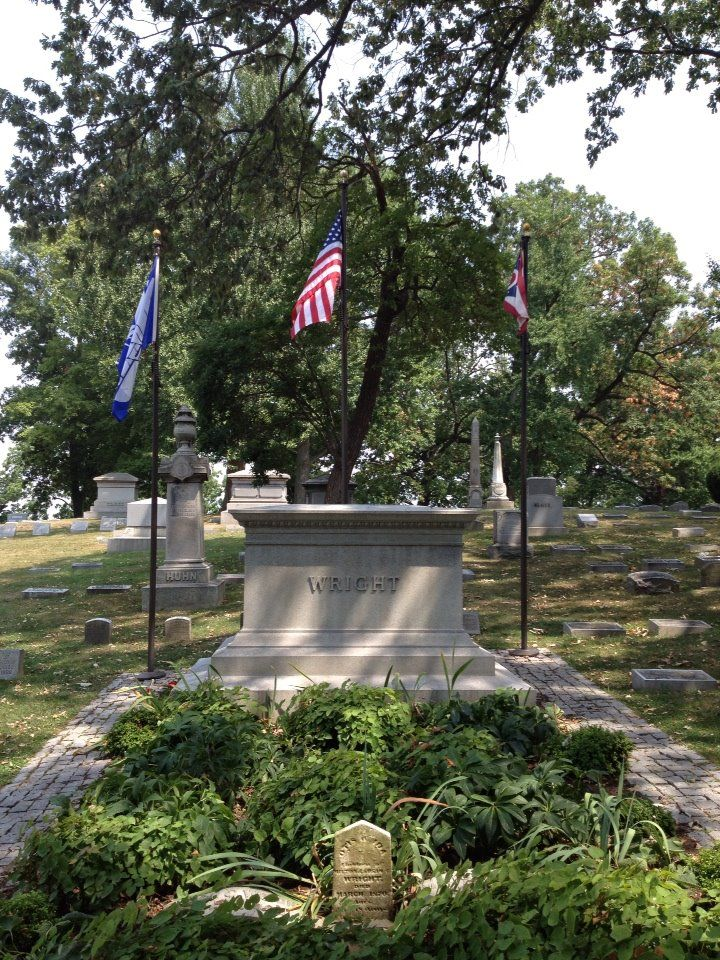 Wright Brothers tomb, Dayton, Ohio