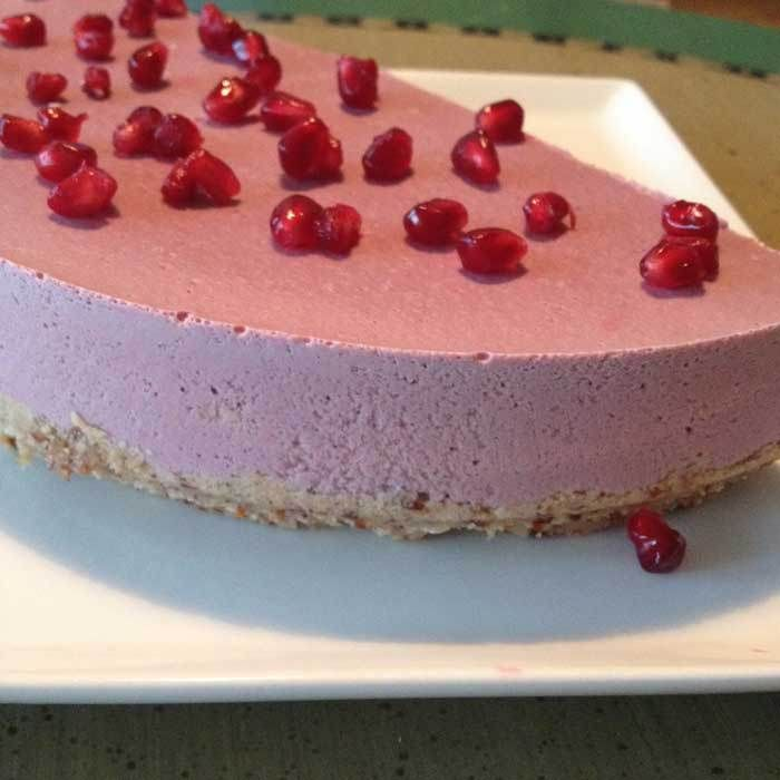 Raw food Cheesecake!