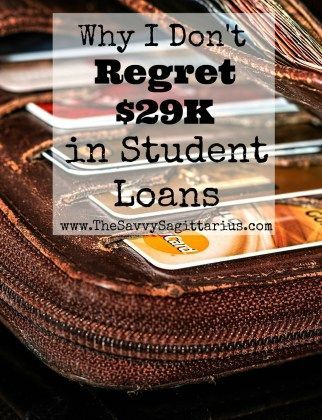 While I am working my butt off to pay off my student loans, I don't regret a single penny of the money that I owe. Here is why I don't regret my student loans!