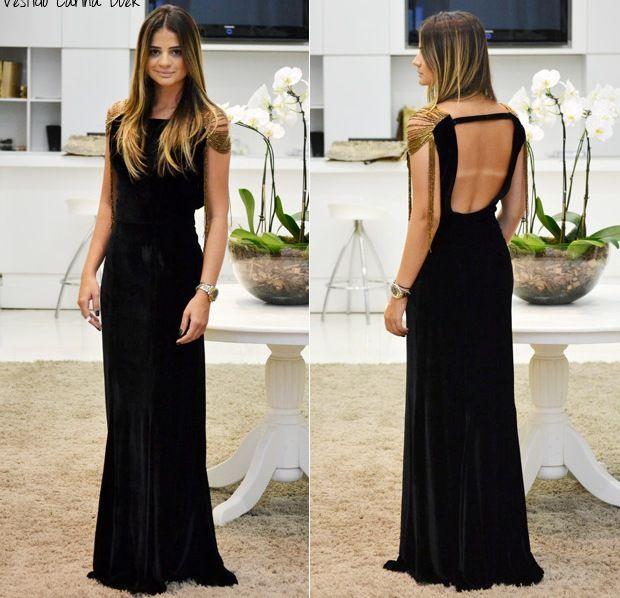 Thassia Naves - a marca do bikini está feia, mas o vestido é lindo