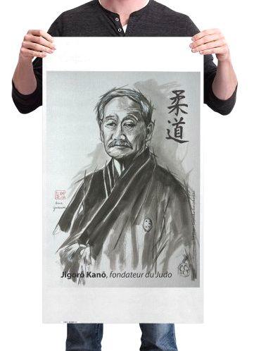 Kakemono Dojo Jigoro KANO