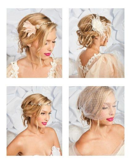 Accessoires pour coiffures de mariée de Tessa Kim