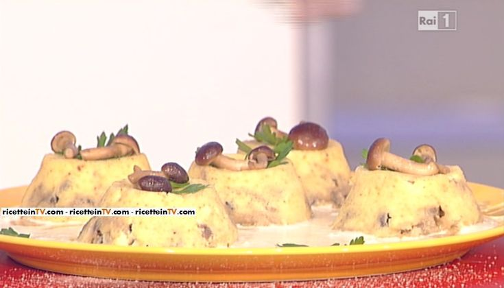 La ricetta degli sformatini di funghi alla fontina di Anna Moroni del 26 novembre 2015 - La prova del cuoco