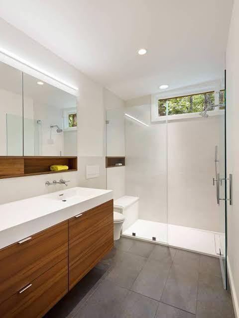 15 Simply Chic Bathroom Tile Design Ideas In 2020 Simple Bathroom Stylish Bathroom Bathroom Design Inspiration