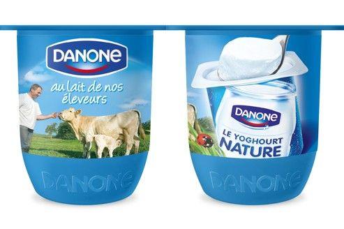 Danone repense ses pots de yaourts. Opération KISS (keep it simple and safe) concerne l'ensemble des marques à l'exception de danette jockey et gervita. En merch les étagères sont peintes en noir et équipées de diodes ce qui a permis d'augmenter les ventes de 4-6%