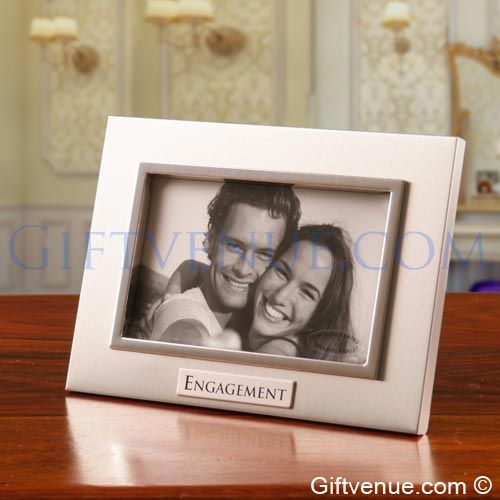 Engagement Gift Frame. Top gifts for an engagement