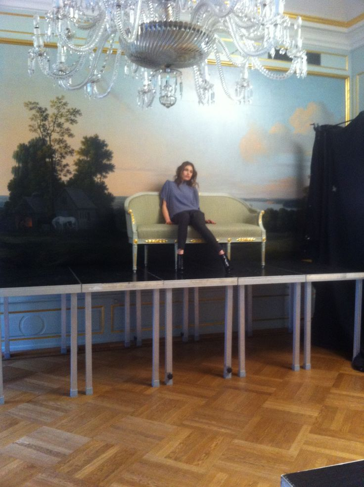 Rützou AW13 lookbook shoot. Location: Moltkes Mansion, Copenhagen. Stylist: Susanne Rützou. Makeup: MAC. Hair: Redken. Model: Maja Krag / Unique Models.