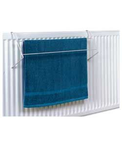 Set of 4 Indoor Radiator Clothes Airer/Towel Rails.