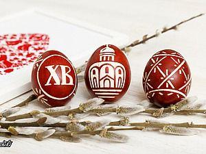Окрашиваем пасхальные яйца в традиционном отваре луковых перьев   Ярмарка Мастеров - ручная работа, handmade