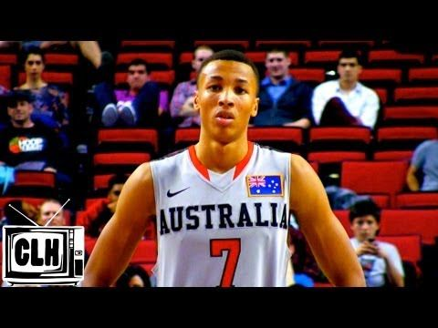 The next baller from Down Under... Dante Exum has pro potential - 2013 Hoop Summit Highlights - 6'6 Austral...