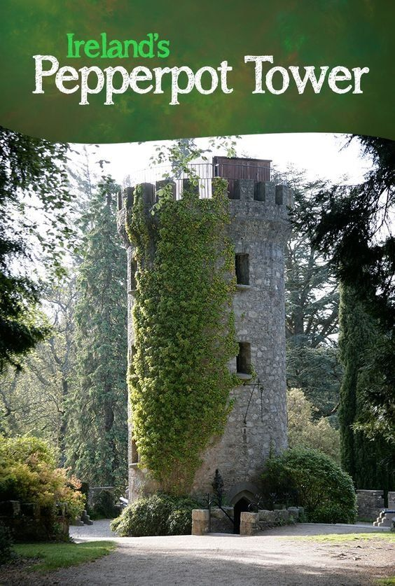 Just one of the countless secretive joys of Powerscourt Estate, the Pepperpot Tower is a monument to whimsy, built in 1911 to commemorate the visit of the Prince of Wales – and modelled on Lord Powerscourt own tabletop pepper mill!
