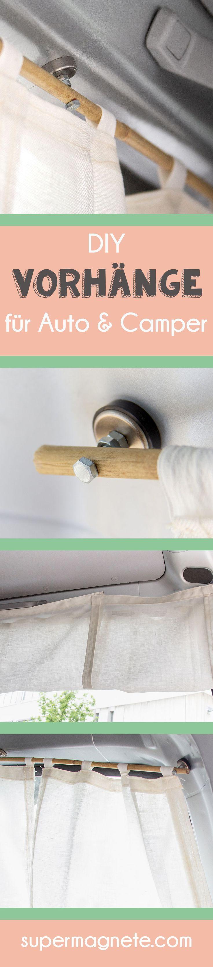 Camper-Ausbau – Magnetische Vorhänge für Auto & Camper: Zuverlässiger Sichtsc…