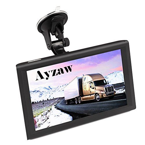 Ayzaw 9 inch Truck GPS Tablet Navigation System with Lifetime Map Free Updates,with Spoken Turn-By-Turn Directions,and Speed Limited Displays,Direct Access. For product info go to:  https://www.caraccessoriesonlinemarket.com/ayzaw-9-inch-truck-gps-tablet-navigation-system-with-lifetime-map-free-updateswith-spoken-turn-by-turn-directionsand-speed-limited-displaysdirect-access/