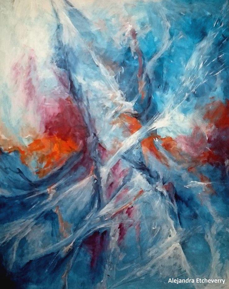 Título: Búsqueda - Acrílico sobre madera (100cm x 80cm) - San Luis, Argentina - Autora: Alejandra Etcheverry