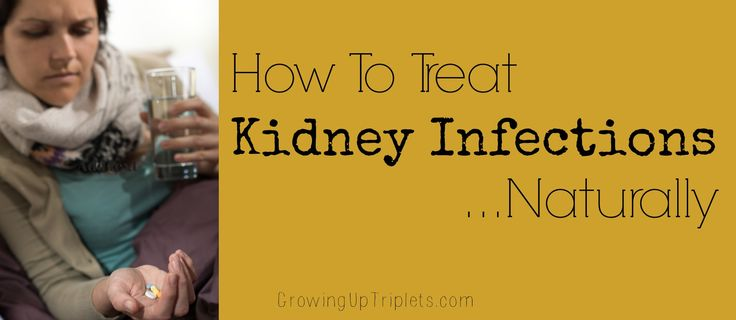 That burning sensation - it can move quickly from a UTI to a kidney infection! Do you know how to treat kidney infections naturally? See this detailed regimen for more info.
