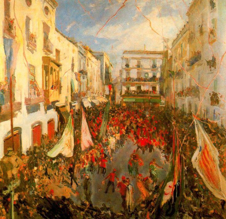The Athenaeum - Las comparsas (Joaquin Mir Trinxet - )