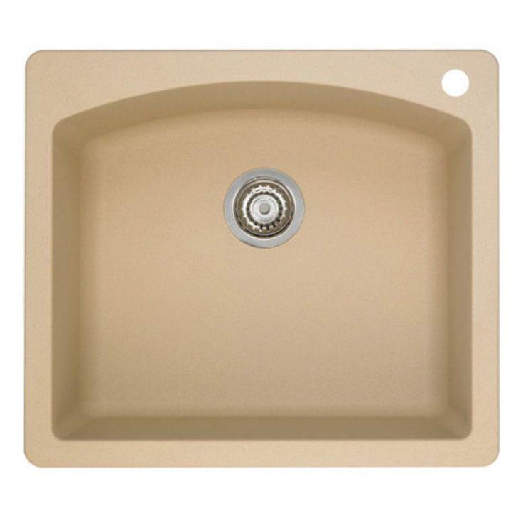 Blanco Diamond Silgranit Ii Single Basin Drop In Kitchen Sink 482497