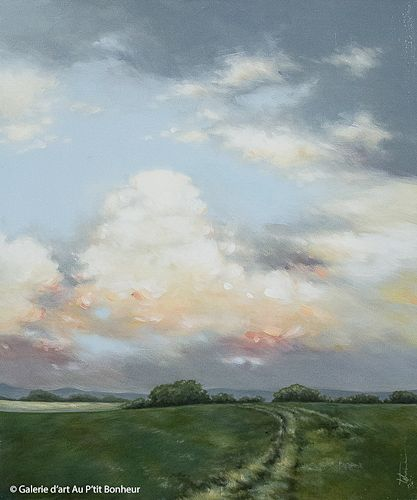 Tammy Shane, 'Warm Winds', 30'' x 36'' | Galerie d'art - Au P'tit Bonheur - Art Gallery