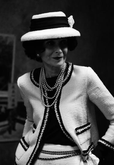 Gabrielle Chanel. Having given it some thought, I've concluded that nobody wears a hat as well as a Gamine. Without one, it's as if something is missing.