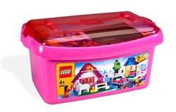 Large pink brick box - 5560