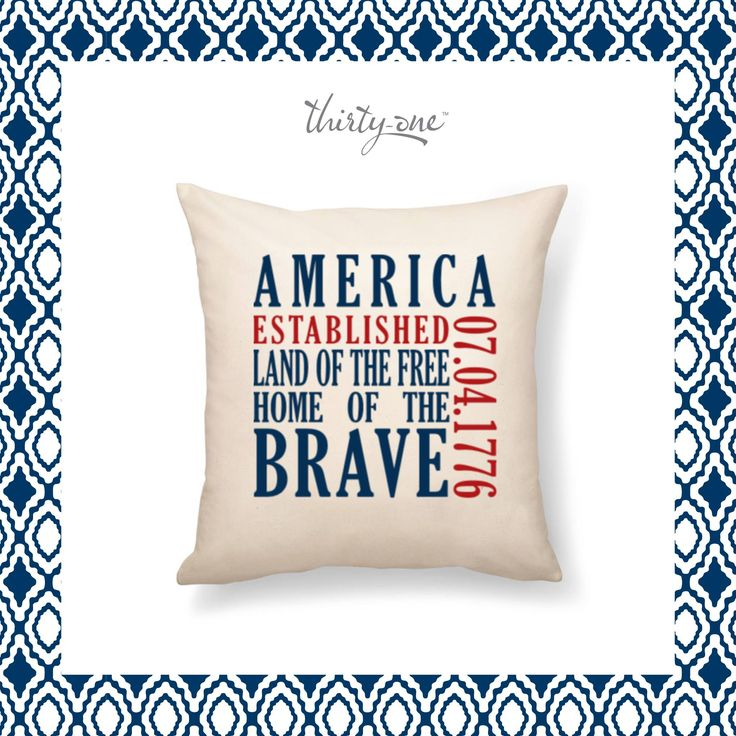 America land of the free home of the BRAVE!